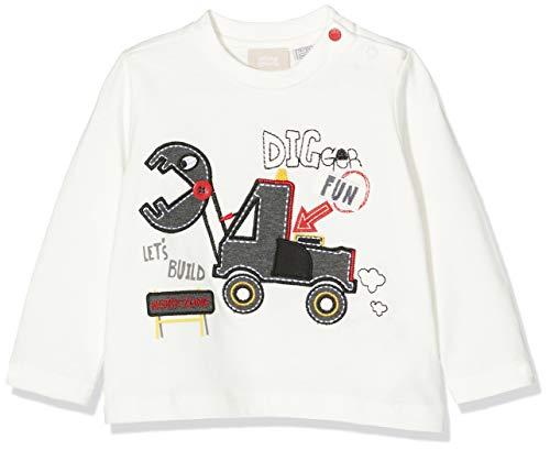 Chicco T-Shirt Maniche Lunghe, Bianco (Naturale 030), 50 (Taglia Produttore:050) Bimbo