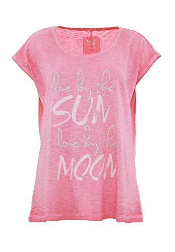 DAILY`S NOTHING`S BETTER BY S. W. B. IPSA: Shirt aus Biobaumwolle, Color:Pink, Size:XXL