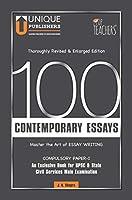 100 Contemporary Essays - Master the art of Essay Writing
