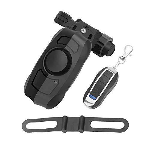 Oneriverspring40 Fietsslot Anti-diefstal Vibratie Alarmsysteem Motorfiets Beveiligingsslot USB Oplaadbare Draadloos Met Afstandsbediening Mini Intelligent
