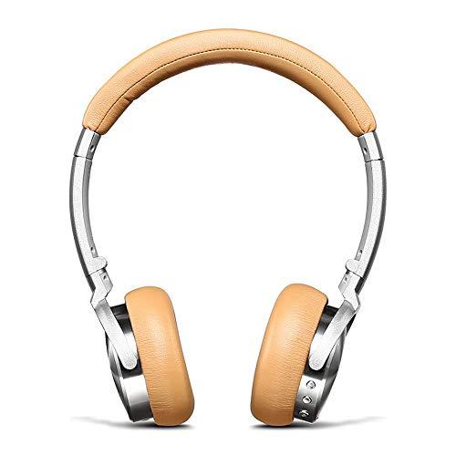 Jian Lin Auriculares inalámbricos Bluetooth Deportes Dual Ear Espera Larga Auriculares Bluetooth con reducción de Ruido con micrófono Cascos Micro (Color : Yellow)