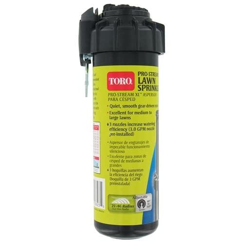 Amazon.com : Toro ProStream XL 5-Inch Pop-Up Adjustable Pattern Rotor Sprinkler System Head 53823 : Watering Nozzles : Garden & Outdoor
