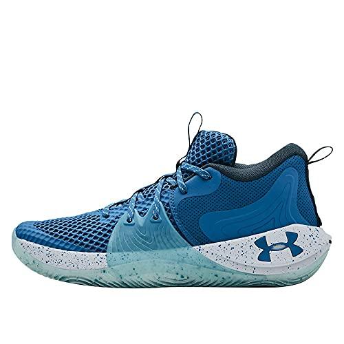 Under Armour Men's Embiid 1 Basketball Shoe (Viral Blue/Skylight, Numeric_12)