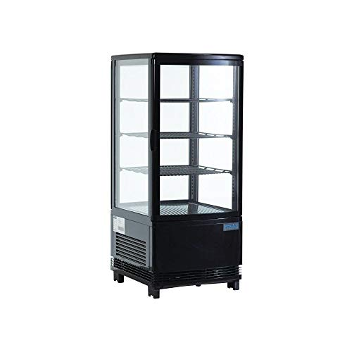Polar C-Series Display Fridge 68Ltr Black