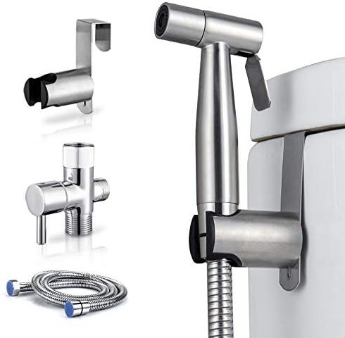 Handheld Bidet Sprayer for Toilet Adjustable Water Pressure Control with Bidet Hose for Feminine product image