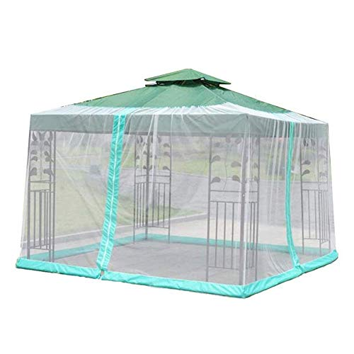 MIEMIE Jardin Mosquito Cover Umbrella Net Screen Outdoor Table Patio Furniture with Zipper Fits Umbrellas and Tables for Gazebos Parasols