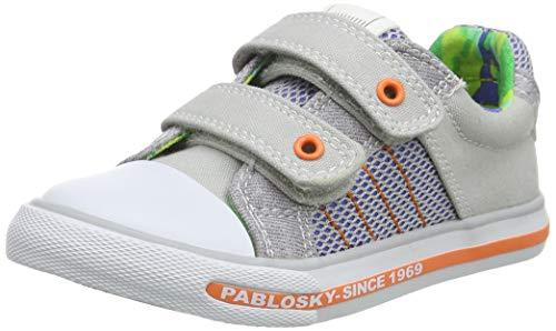 Pablosky, Zapatillas-Niño para Niños, Gris, 25 EU