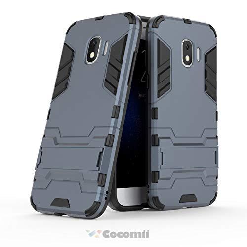 Cocomii Iron Man Armor Galaxy J2 Pro 2018/Grand Prime Pro Hülle NEU [Strapazierfähig] Taktisch Griff Ständer Stoßfest [Heer Verteidiger] Case Schutzhülle for Samsung Galaxy J2 Pro 2018 (I.Black)