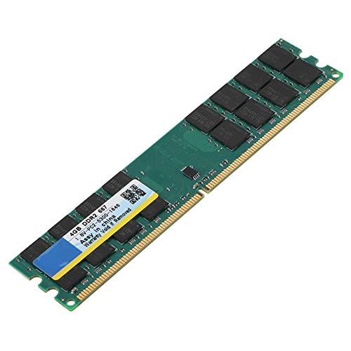 Shipenophy Memoria de Escritorio DDR2 Alta Velocidad Fácil de Transportar RAM de Escritorio 4G RAM de Escritorio Memoria de Escritorio 4G Estable para computadora para PC para Escritorio