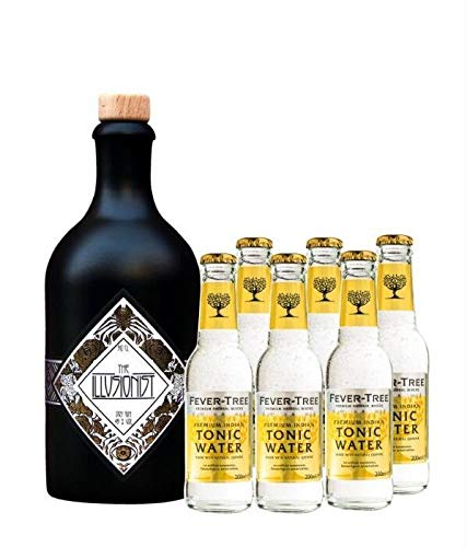 The Illusionist Dry Gin 0,5 + 6x Fever Tree Tonic 0,2