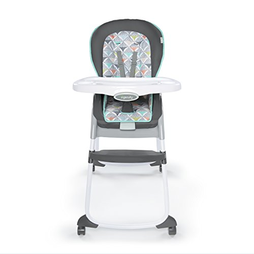 Cheapest Prices! Ingenuity Trio 3-in-1 High Chair - Flora The Unicorn - High Chair, Toddler Chair, a...