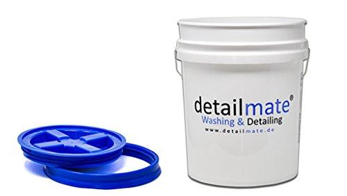 GritGuard Detailmate Wasmachine, 5 gram (ca. Gamma Seal, emmerdeksel, blauw, inhoud 20 liter, inhoud emmer