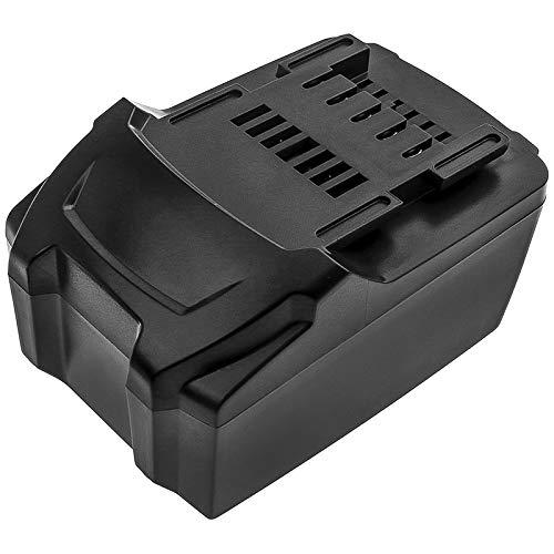 6000mAh Battery Replacement for Metabo SSW18 LTX W 18 LTX 115 WPB 18 LTX BL 125 Quick SB 18 602245510 AHS 18-55 V 6.25499.00 6.25469.00 6.25459 6.25457.00 6.25457 625457000 6.25527