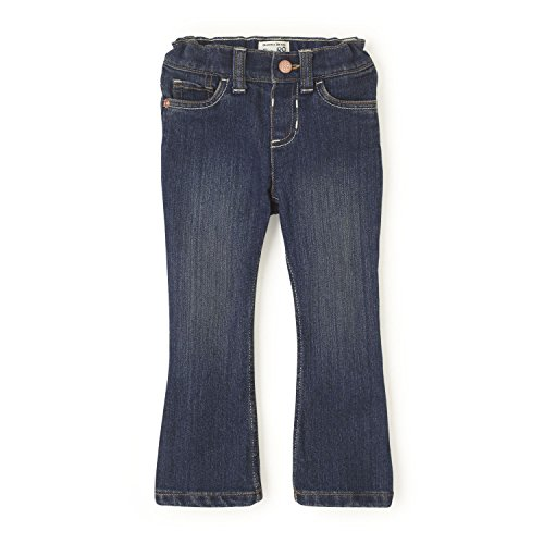 The Children's Place Baby Girls' Bootcut Jeans, China Blue 26560, 12-18 Months