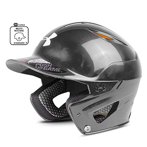 Under Armour Baseball UABH2 150: BK Converge Solid Batter's Helmet, Adult