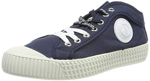 Pepe Jeans London Damen G HI Woman Sneaker, Blau (595navy 595), 38 EU