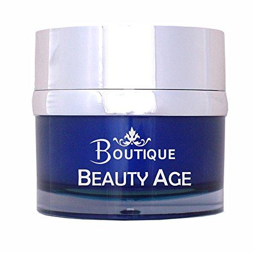 Boutique - Crème visage Beauty Age, anti-âge au rétinol, huile d'argan et Q10 - 50ml