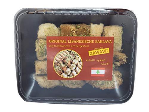 Libanesische Premium Baklava Handarbeit Original beste Zutaten 500 gr. - 1000 gr. Mischung hochwertige Qualität Pistazien Cashewkerne Köstlichkeiten Exquisit ein Genuß (500 gr.)