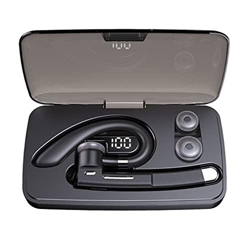 Auriculares manos libres inalámbricos con cancelación de ruido con micrófono para conductor, con caja de carga