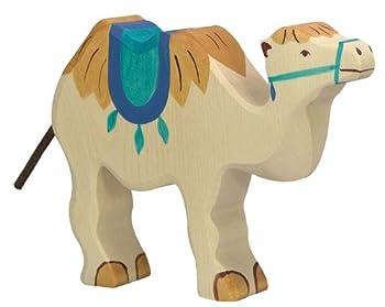 Holztiger Camel with Saddle Toy Figure