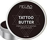 Tattoo Aftercare/Tattoo Cream/Tattoo Balm/Tattoo Salve Tattoo Butter for After,Brightener & Moisturizing Ointment,Enhances Tattoo Colors, Promotes Healing, Protects,Safe, Natural - 5 oz
