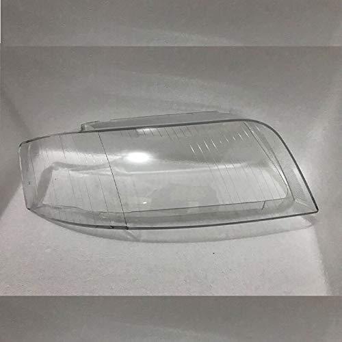 Auto Clear Scheinwerfer Objektivabdeckung Fit For Audi A6 C5 2003-2005 Objektivfrontscheinwerfer Scheinwerfer Glaslampenschirm Lampenabdeckung Transparente Masken Auto-Hauben-Verpackung, Auto-Scheinwe