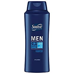 Suave 2 in 1 Shampoo and Conditioner, Ocean Charge, 28 oz