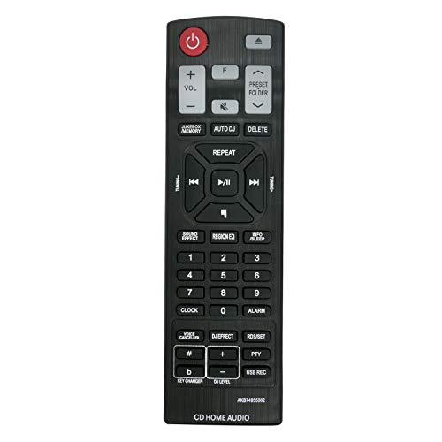 AKB74955302 Novo controle remoto de substituição para LG Mini Hi-Fi System CMS9960F CM8460 CM9960 CMS8460F CMS8460W