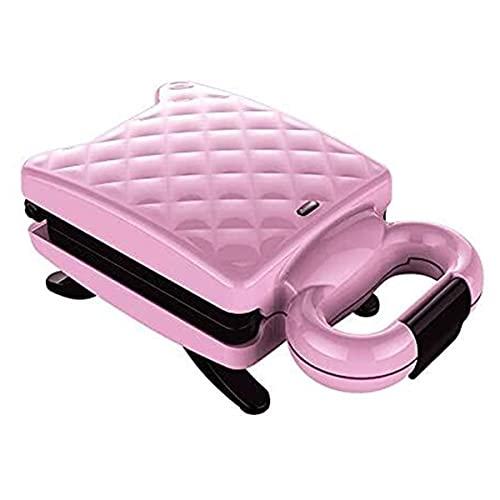 KISAD Máquina de Desayuno Multifuncional Inicio Multi función de Pan Máquina de Desayuno Tostadora Casa Cocina Sandwich Maker No Stick Pastel Eléctrico Pan (Color : B)