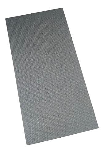 Colchonete Eva Tapete Yoga Fit Exercícios 10mm Cinza Escuro