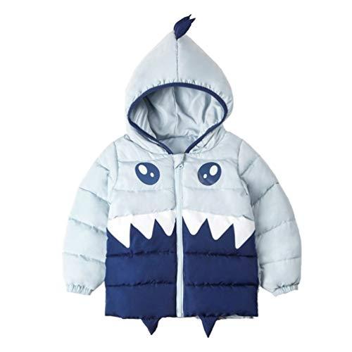 Xuvozta Toddler Boys Down Jacket Hooded Long Down Coat Soft Comfortable Winter Outwear 90 Green