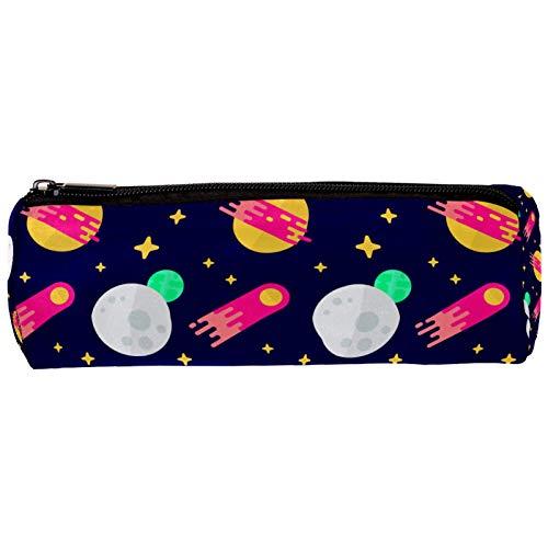 Planets - Estuche para lápices con cremallera, organizador de monedas, bolsa de papelería, bolsa de maquillaje para mujeres, adolescentes, niñas, niños y niños