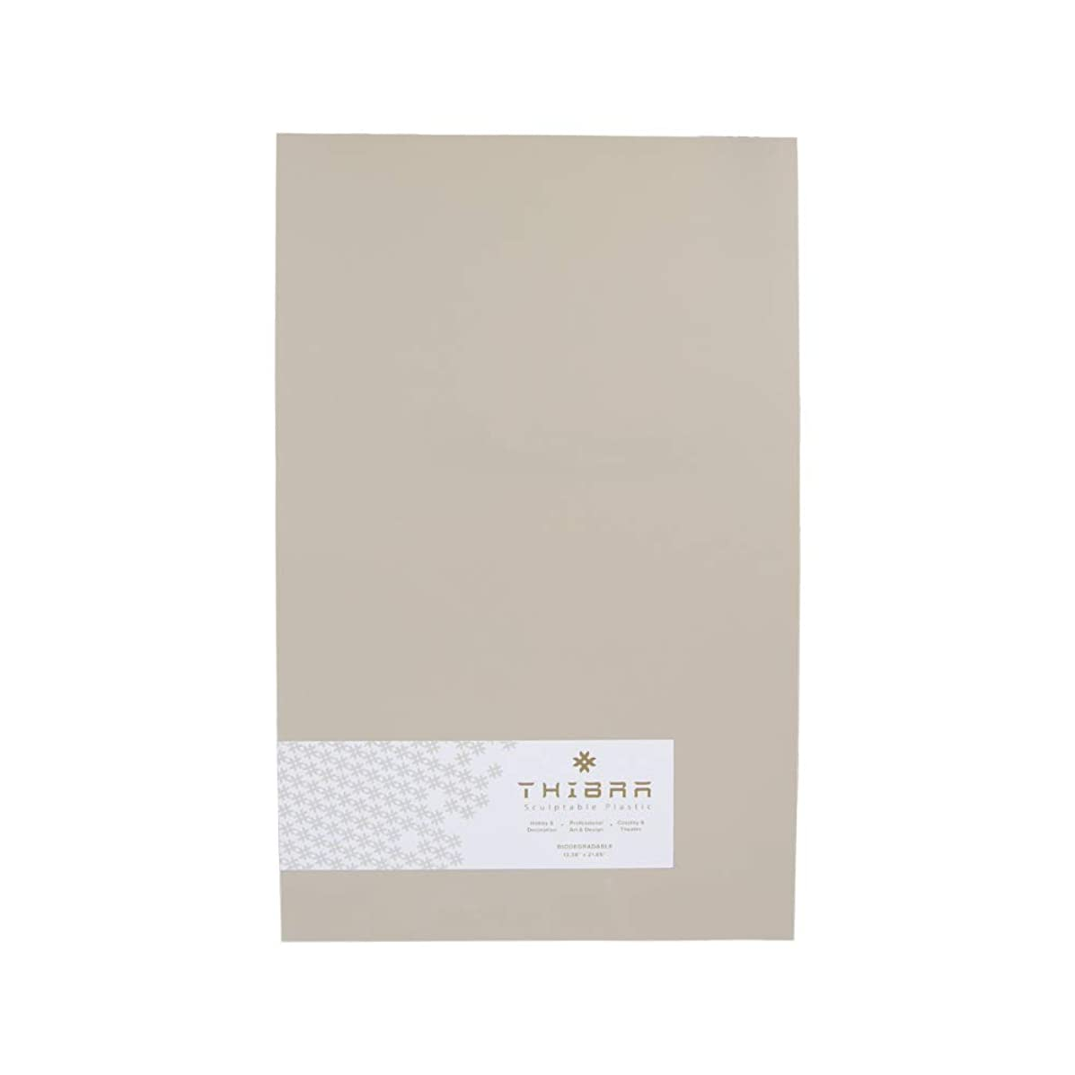 Thibra Thermoplastic | Reusable | Easy to Use Moldable Plastic Sheet | Ideal for cosplay, Hobby, Arts and Crafts | Size 13.4 X 21.6