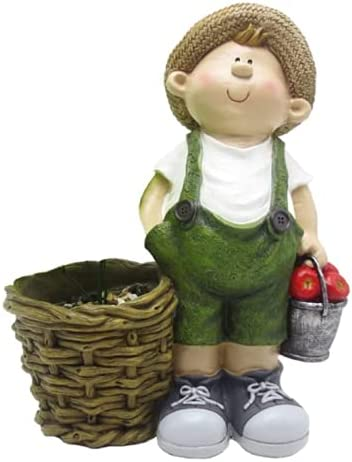 Garden Figurines Outdoor free shipping Ranking TOP7 Simulation and Girl Ornamen Boy