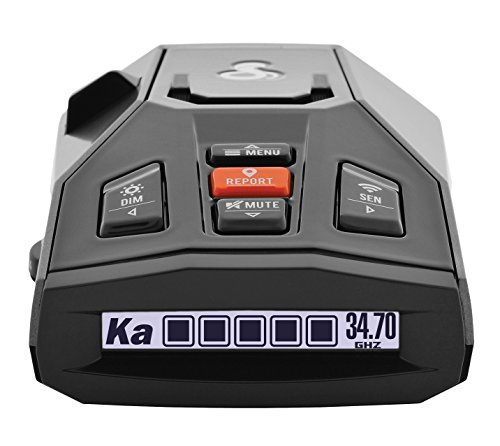 Cobra iRad Laser Radar Detector – iRadar App, RAD450 Technology with Bluetooth, Real Time Alerts, Extreme Long Range Protection, Fewer False Alerts, Voice Alerts, iPhone/Android , Black