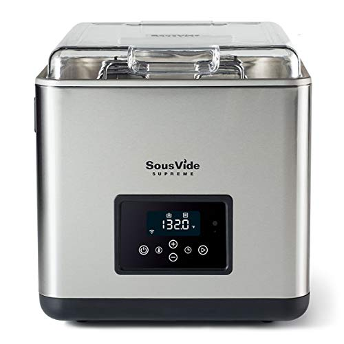 SousVide Supreme Touch+ 11 Liter with WiFi | Sous Vide Water Oven | Accurate and Stable Temperature | Compatible with Amazon Echo and Dot | Touch Control Water Bath Cooker