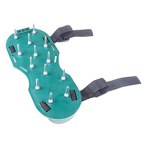Hand operated tools Lawn Aerator Shoes, Garden Nail Shoes, Lawn Aerator Sandals, Lawn Aerator Nail Shoes Effectively Aerating Lawn Soil One Size Fits All Garden plant care