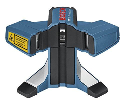 Bosch Professional GTL 3, 20 m Arbeitsbereich, IP 54 Staub- und Spritzwasserschutz, Ausrichtscheibe, Schutztasche, Laserzieltafel