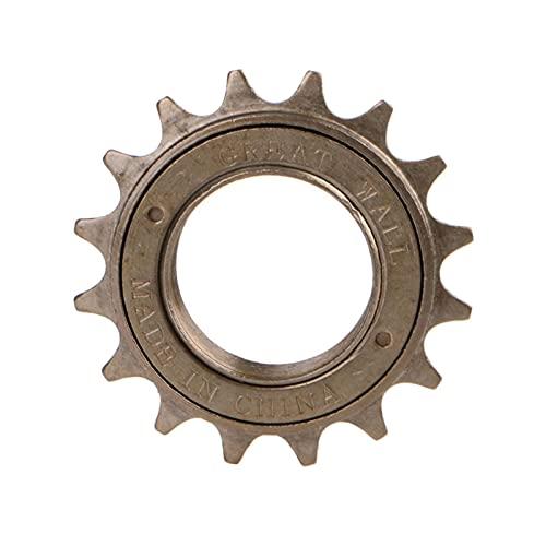 ZHANGQI Jiejie Store Bici Bicycle Race 16/18/20/22 / 24T Dente velocità Singola velocità Libera Caratteristiche stabili, Elevata affidabilità. (Color : 16)