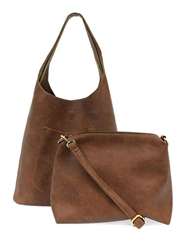 Joy Susan Womens Molly Slouchy 2-in-1 Hobo Handbag