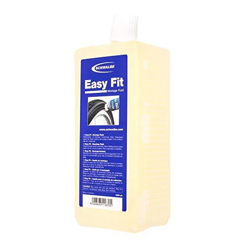 Schwalbe Easy Fit-Montage-Fluid Fahrradzubehör Nachfüllflasche, 1000 ml