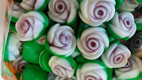 Rosas de gominolas rellenas bolsa de 1 kilo