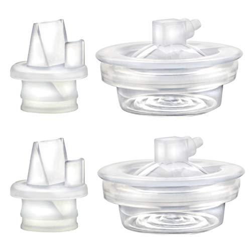Piezas de repuesto compatibles con la bomba Avent Comfort, válvula, diafragma para bombas eléctricas individuales y dobles; fabricado por Maymom