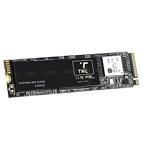 512GB M.2 NVME 2280 SSD PCIe 3.0 - High Performance Solid State Drive Bis zu 2500 MB/s Sequenzielle Lesegeschwindigkeit und Sequenzielle Schreibgeschwindigkei, für Laptop & Desktop