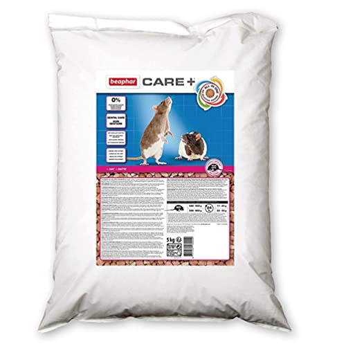 Beaphar Care+ Usage Magasin Nourriture pour Rat 5 kg