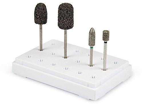 Set - Nagelfräser Aufsätze - Nailtechnik Hornhaut Set Basic -Made In Europe