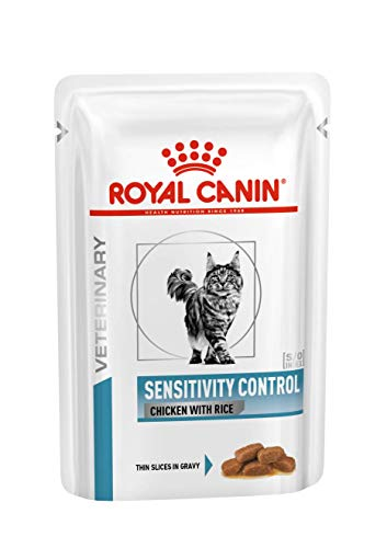 Royal Canin Cat Sensitivity Control Chicken und Rice, 1er Pack (12 x 85 gms)