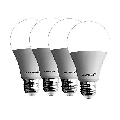 Lampaous led, lampadina a LED con attacco E27, equivalente a 100W, A70, 15W, 3000K, bianco caldo, 6000K, LED bianco freddo satinato, attacco tipo Edison, ultra luminosa 1500 lm, non regolabile, a risparmio energetico., Cool White, E27 15.0W 240.00V