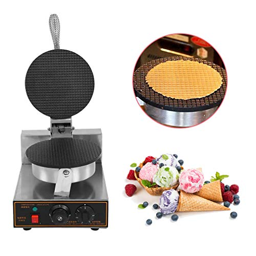 Why Choose WXCC Ice Cream Cone Maker, Commercial Electric Ice Cream Machine Nonstick Regular Ice Cre...