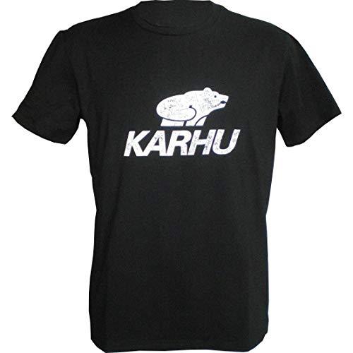 KARHU T-Promo 1 Camiseta, Unisex Adulto, Negro, S